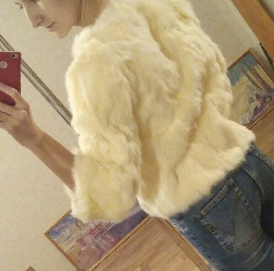 HTB1WZs7aUY1gK0jSZFMq6yWcVXaX ETHEL ANDERSON 100% Real Rabbit Fur Women's Real Rabbit Fur Coat/Jacket Outwear Beauty Purple Color XXXL Size Coat