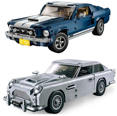 Technic GT500 1967 Creator Expert Ford Mustang fit technic 10265 Building Blocks Bricks 21047 DIY Toy