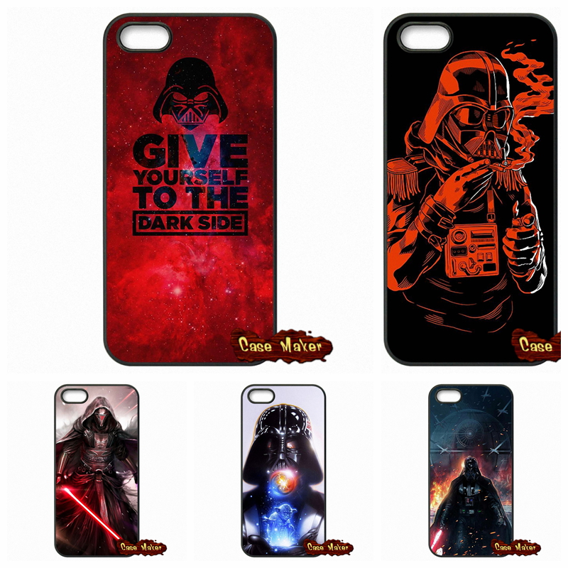 finest selection b43fb f46c9 US $4.95 |Star Wars The Force Awakens Darth Vader Case Cover For iPod Touch  4 5 6 Samsung Galaxy Note 2 3 4 5 HTC One M7 M8 M9 LG G2 G3 G4-in ...