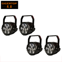 Cheap Price 4 Unit 9X18W RGBWA UV Waterproof LED Silent Par 64 Stage Lighting IP65 Outdoor
