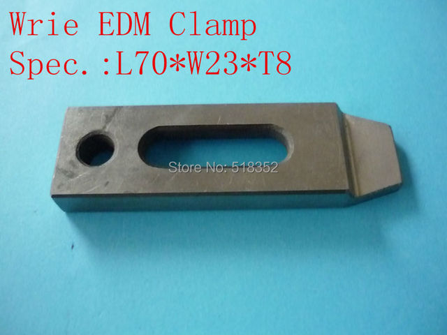 70*23*8(front) Wire EDM Clamp Stainless Jig Holder for EDM Wire ...