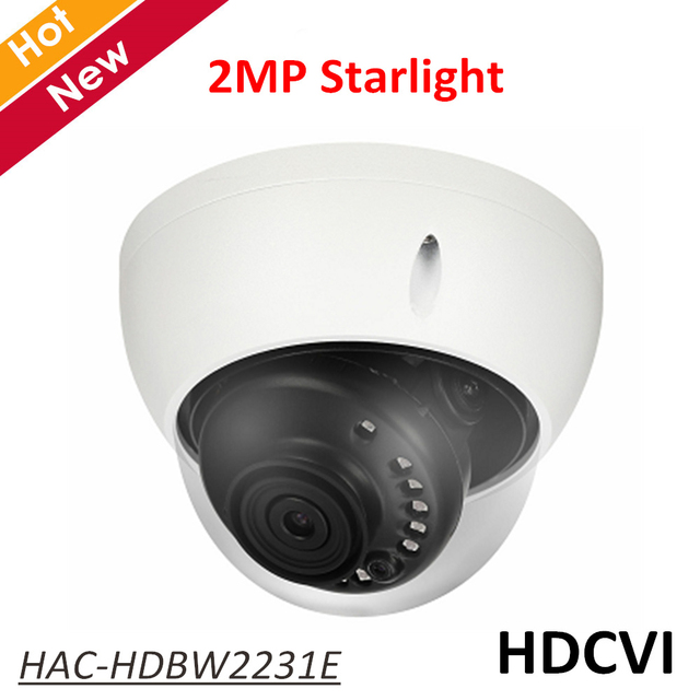 37c33692542 DH Starlight HDCVI Camera HAC-HDBW2231E 2MP HDCVI IR Dome Camera IR 30m HD  and