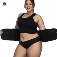Yumdo Plus Size S 5XL Neoprene Sweat Sauna Body Shapers Waist Trainer Slimming Cincher Vest