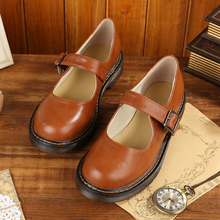 2018 New Japanese Style Vintage College Student Shoes Cosplay Lolita Shoes for Women/Girls Uniform Shoes Platform Shoes 35-40 все цены