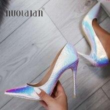 النساء الكعوب الأفعى zapatos