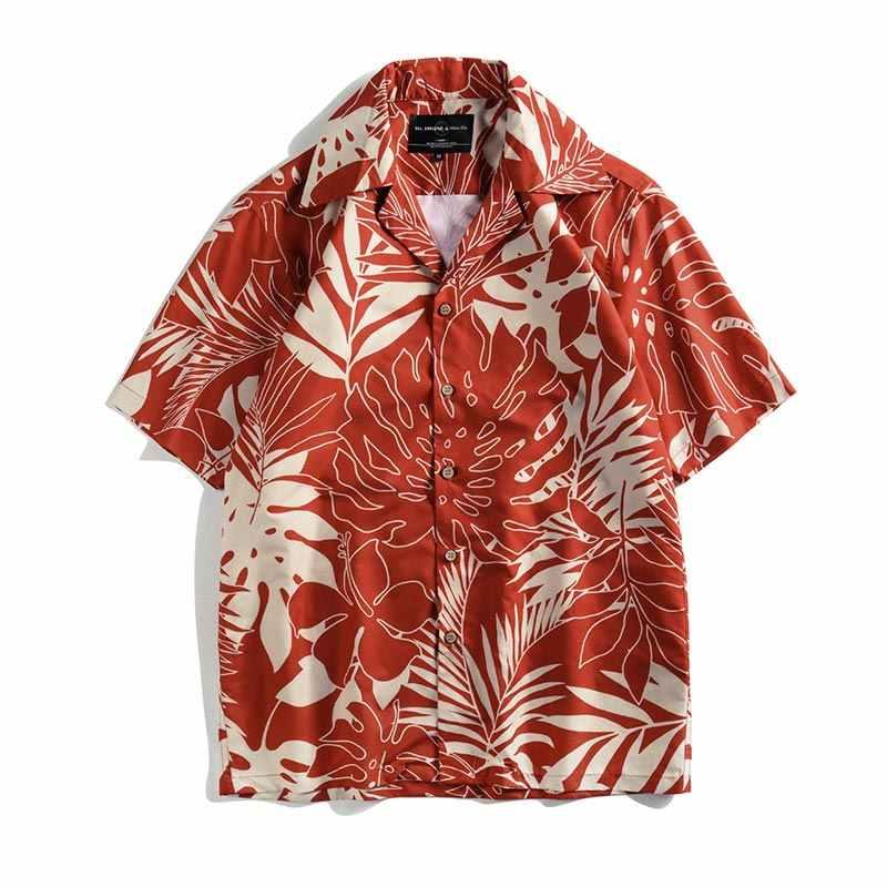 Headbook Новые поступления 3d рубашки для Для мужчин короткий рукав мужской Прохладный рубашки цифровой печати красивые цветы Пляжные рубашки CD008