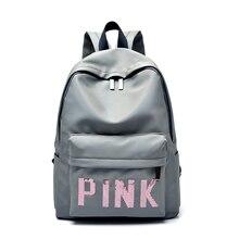 hot deal buy new fashion black women bag backpacks for teenage girls waterproof nylon colleage bags ladies zipper travel backpacks