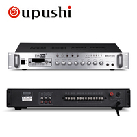 Oupushi PA 5 Zone Mixing Amplifier 60W , 100W, 150W MP3 Music Player USB Home Music Amplifeir With Speakers