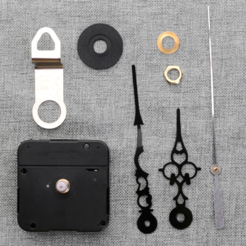 Replacement Quartz Clock Movement 2 2 2 2 0 63 inch Continuous Kit For DIY Clock Sweep High quality Durable in Wall Clocks from Home Garden