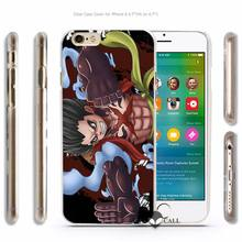 Various Characters Hard Transparent Phone Case