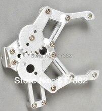Freeship 1set 2 DOF Aluminium Robot Arm Clamp Claw Mount kit (No servo) Un assembly Fit for Arduino