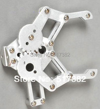 Freeship 1set 2 DOF Aluminium Robot Arm Clamp Claw Mount kit (No servo) Un-assembly Fit for Arduino(China)