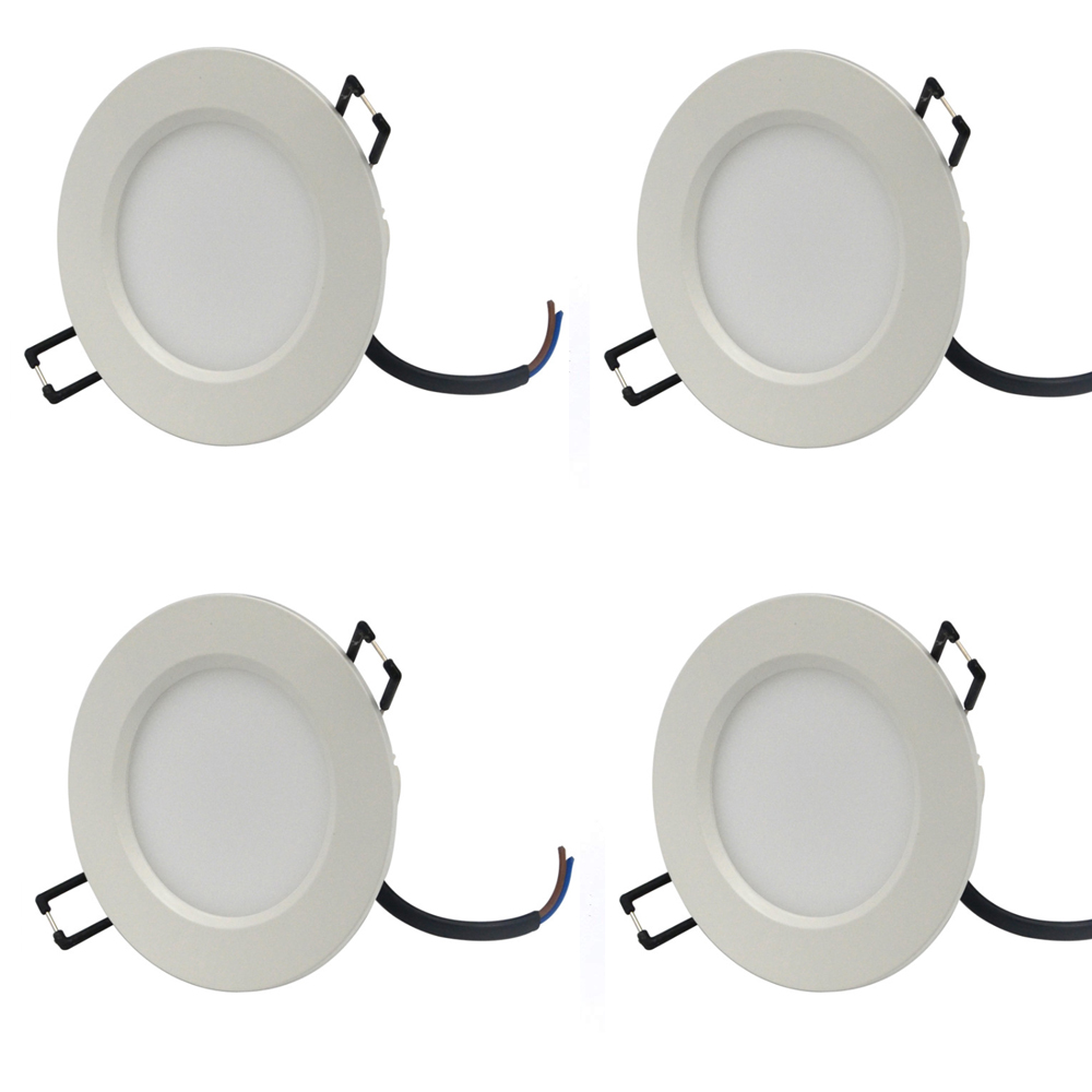 LED Recessed Downlight  Fog-proof 2.5 inch SMD led downlight Light 100-260V 320lm warm/cold white 4w for Home Lighting 4pcs/lot