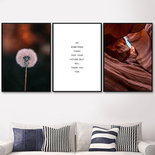 Church Dandelion Canyon Nordic Posters And Prints Wall Art Canvas Painting Pictures For Living Room Scandinavian Home Decor