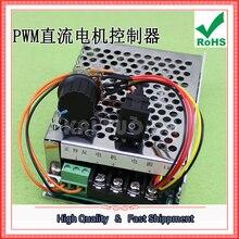 Envío Gratis 2 unids PWM DC Motor Control de Velocidad Controlador Hacia Abajo Shun Impulso Hacia Adelante Inversa Módulo de Conmutación 12 V 24 V 0.61 KG