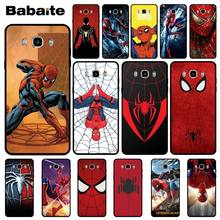 Babaite Marvel Comics Spider Man Homecoming szczegółowe popularne etui na telefon do Samsung J2 PRIME J2 Pro 2018 J4 puls J6 PRIME J7 DUO(China)