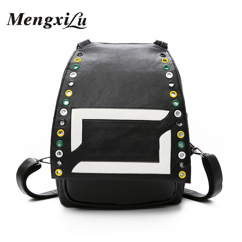 New Arrival Women Backpack Youth Fashion PU Leather Backpack for Teenage Girls Women Casual Back Pack Large Capacity Women Bags