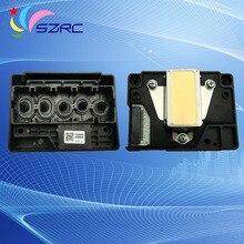 F185000 Печатающая головка Оригинальный демонтажа Новый Для EPSON ME1100 ME70 ME650 C110 C120 C1100 L1300 T110 T1100 T30 T33 T1110 Печатающей Головки