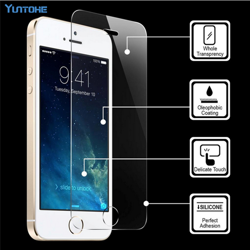 Top Quality 0 33 MM LCD Clear Tempered Glass Screen Protector Film For IPhone X XS