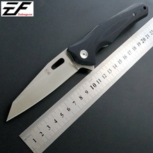 Eafengrow EF332 58-60HRC D2 Blade G10 Handle Folding knife Survival Camping tool Hunting Pocket Knife tactical edc outdoor tool цена и фото