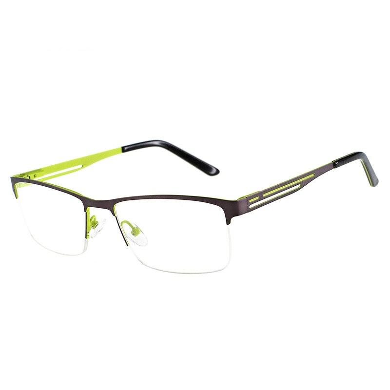Titanium Glasses Frame Men Ultralight Square Myopia Prescription Eyeglasses 2018 Male Metal Optical Frame Eyewear