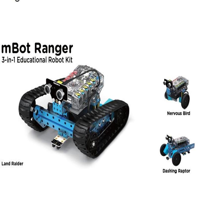 Makeblock  mBot Ranger - Transformable STEM 3-in-1 Educational Robot Kit  Robotics Gift for Children робоконструктор ultimate robot kit makeblock