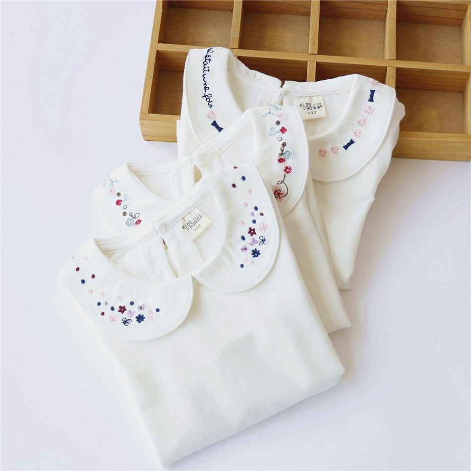 Jesen Modna odjeća za djecu Bijela udobna pamuk Slatke male djevojke - Dječja odjeća - Foto 6