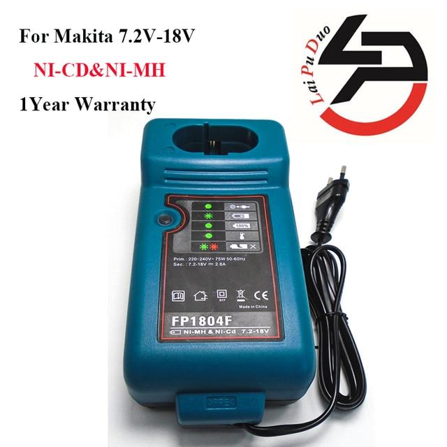 Công Suất Thay Dụng Cụ Sạc Pin Cho Makita DC7100, DC711, DC9700, DC9710, DC18RA, DC18SE, n CD & NI MH Pin