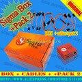 Сигма Коробка с 9 Кабели + Sigma Pack 2 Активации для Zte для Motorola бесплатная доставка