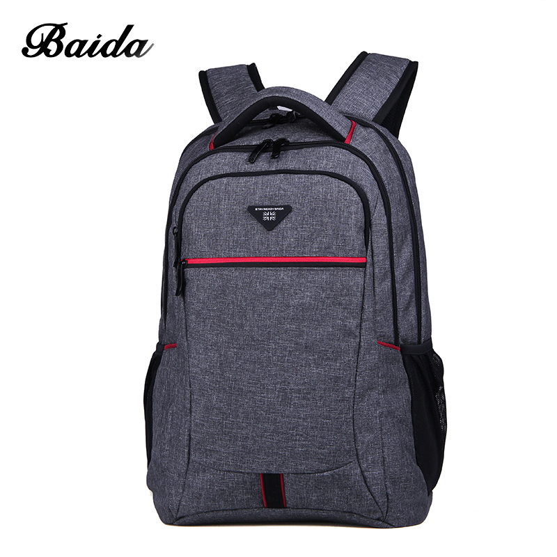 BAIDA Travel Backpack Fashion High Quality Multifunction Business Men and Women Leisure Backpack Fit 15 Inch Laptop quality innovation bicycle infantry pack 14 6 inch waterproof and scratch resistant outdoor leisure men and women bike backpack