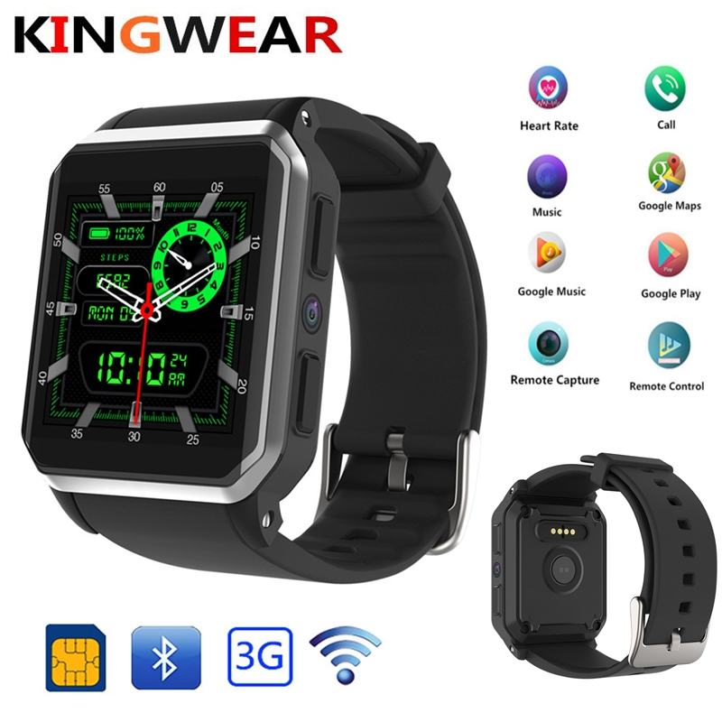 8958734a3be KingWear Kw06 android 5.1 os Inteligente relógio eletrônica android 1.39  polegada mtk6580 SmartWatch telefone suporte 3G
