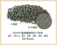 FREE SHIPPING 5mm Round Polishing Beads For Rotary Tumbler Vibratory Tumbler Stainless Steel Polishing Media For