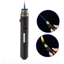 Portable Outdoor Lighter 1300 Degree Torch Jet Flame Pencil Butane Gas Refillable Fuel Welding Soldering Melting Lighter