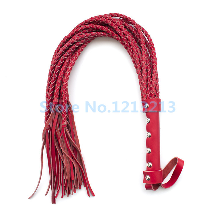 ФОТО Adult Games Hand Made Genuine Leather Whip Sex Fetish Leather Flogger Horse Whip Horse Racing Flogger Sex Products