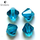 100 pcs 6mm Bicone shape beads 5301 crystal glass fashion diy jewelry beads create your style