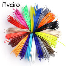 5 Meter 50M 10 Color Or 100 M 20 Colors 3D Printing Materials 3 d Pen Filament Plastic For Kids DIY Birthday Gift