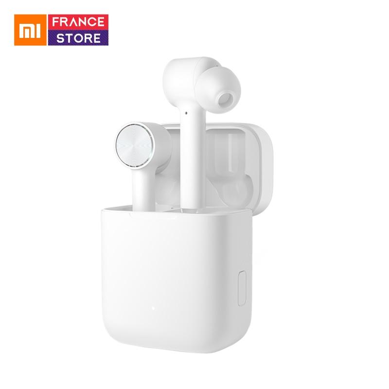 Original Xiaomi Bluetooth Earphone Air TWS Earphone AAC HD Sound Noise Reduction BT 5 0 With