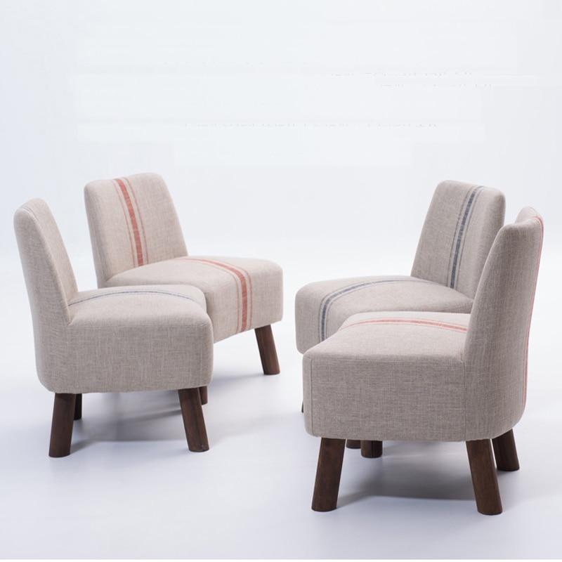 Estilo Pastoral de tela sofá, conjunto de sofás de madera, sillas ...
