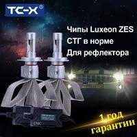 Super Bright Car Headlights LED Conversion Kit HB3 9005 H7 H9 H10 H11 HB4 9006 6000