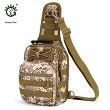 De múltiples funciones Al Aire Libre Molle Táctico Militar Mochila Bolsa mochila Para Viajes Deportivos Senderismo Mochilas Bolsas de Mensajero