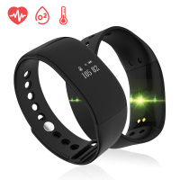 Smart Sport Bracelet Watch Men Women Blue tooth Step Counter Sleep Call reminder SMS Calorie Distance Heart Rate Blood OxygenV66