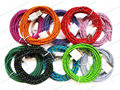 Lot 100pcs 3m 10ft Colorful Braided Fabric Charger USB Cable For Iphone 4 4S 3G 3GS Ipad 2 Ipad3