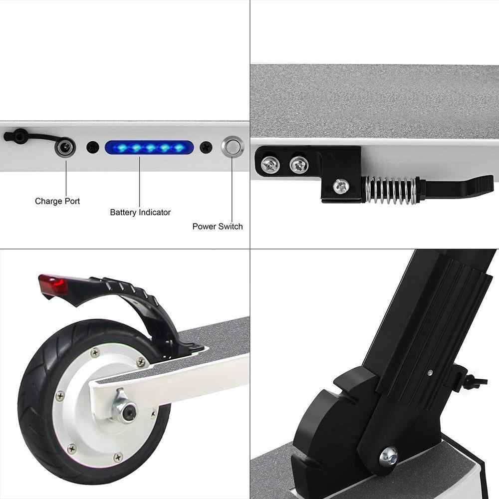 Megawheels S1 2 Portable Folding Electric Scooter 250W Motor
