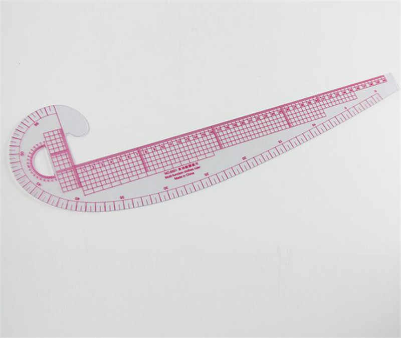 Plastic French Curve Metric Sewing Clothes Ruler Measure for Dressmaking Tailor Grading Curve Rule Pattern Making Accessories