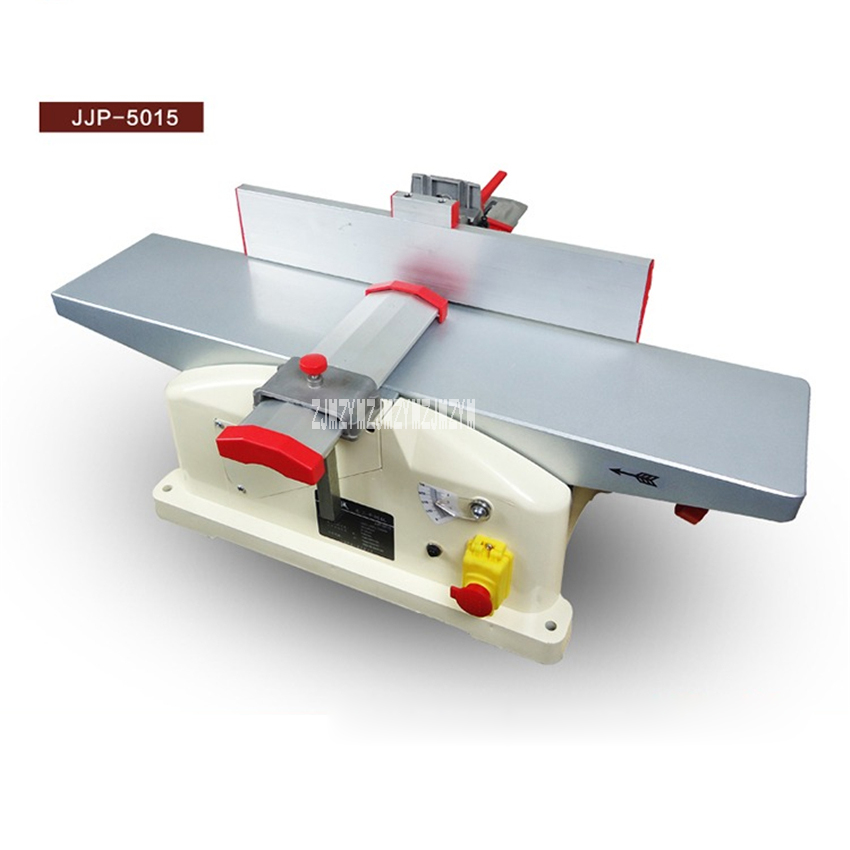 JJP-5015 Multi-function Table Planer Electric Planer Woodworking Bench Planer Machine Tool Flat Wood Planer 220V 1280W 9000r/min