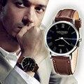 De Marketing Hot 2016 Novo Clássico Elegante Relógio de Quartzo Militar Relógios Homens Esportes Relógio de Pulso Homem Moda Horas
