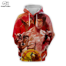 PLstar Cosmos Bruce Lee 3D Printed Hoodie/Sweatshirt/Jacket/shirts Mens for boy Tees hip hop Movie Fans Kun apparel Fashion tops