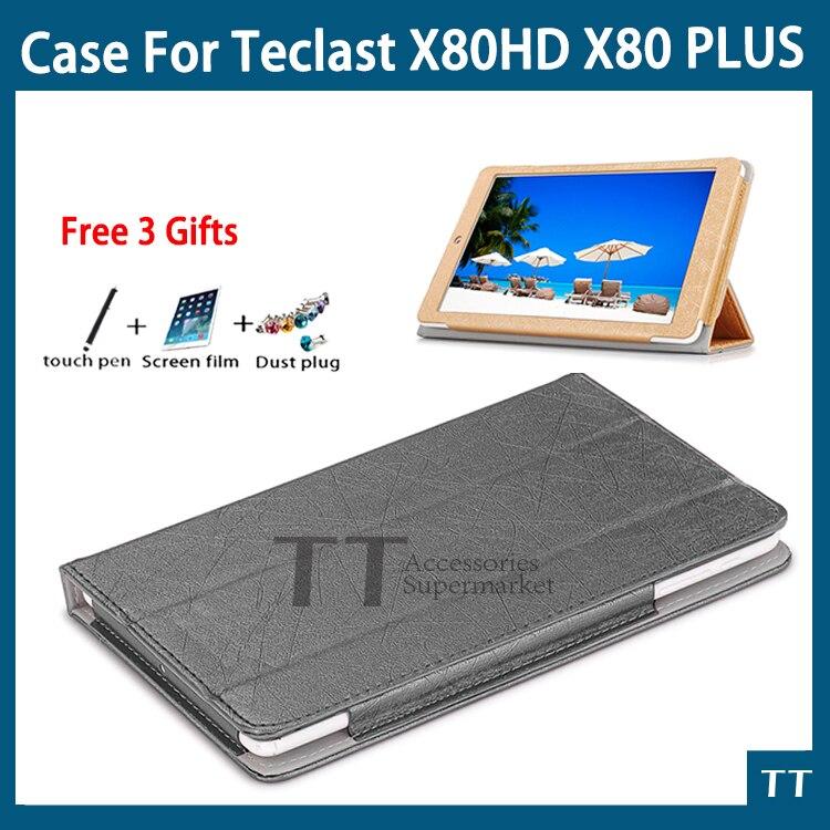 Funda de cuero PU de alta calidad para Teclast P80h X80 más X80 Pro P80t X80hd 8