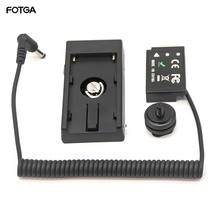 FOTGA LP E17 Giả Pin + F970 Pin Gắn Đĩa Dành Cho Canon EOS M3/5/6 800D 750D
