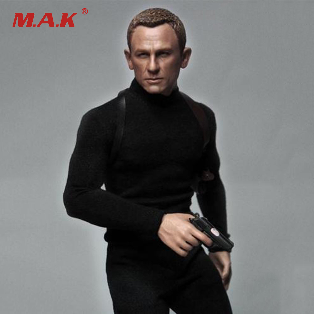 1/6 007 Agent Daniel Craig James  Head & Clothing Suits For 12 inches Male Figure купить водныи велосипед craig cat